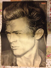 JAMES DEAN / SYLVESTER STALLONE RAMBO - DOUBLE-SIDED POSTER FROM BRAVO MAGAZINE