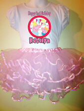 Peppa Pig Party Dress Birthday 2pc tutuset 1T,2T,3,4,5,6,7,8,9 pink