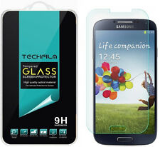 TechFilm® Tempered Glass Screen Protector Saver Shield For Samsung Galaxy S4