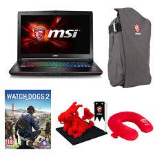 """MSI GE72 Apache Pro-070 17.3"""" Gaming Laptop i7 16GB RAM 1TB HDD 128G SSD GTX970M"""