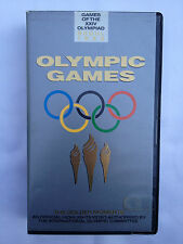 GAMES OF THE XXIV OLYMPIAD OLYMPIC GAMES SEOUL 1988 THE GOLDEN MOMENTS VHS VIDEO