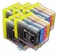 20 LC970 Bk/C/M/Y Ink Cartridges for Brother DCP-135C
