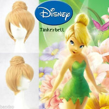 Disney Tinker bell Blonde Style Cosplay Wigs Cos Wig Free Shipping+gift