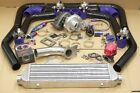 GT T3/T4 T3 T4 T04E Universal Turbo Charger Kit+ WASTEGATE + INTERCOOLER+ PIPING