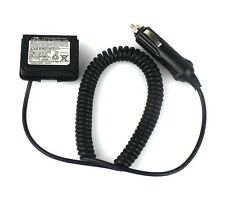 12V Car Battery Charger Eliminator Adaptor+Waterproof Ring for YAESU VX-6R VX-7R