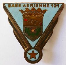 Insigne Armée de l'Air émail ! BASE AERIENNE 121 NANCY ESSEY DRAGO 510 ORIGINAL