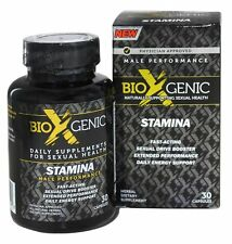 BioXgenic - Stamina Male Performance - 30 Capsules