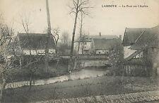 CARTE POSTALE / LABROYE LE PONT SUR L'AUTHIE / + CACHET TRESOR ET POSTE 19