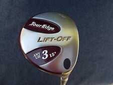 Tour Edge LIFT-OFF FWY 15.0 & 18.5 LITE Flex Shaft - TWO (2) CLUB PACKAGE