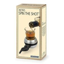 Retro Spin the (Bottle) Shot - Adult Drinking Party Game