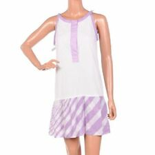 EMMAICHAI Dress White & Pink Smog Cotton Size UK 8 RRP £75 OS 263