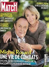 PARIS MATCH N°3503 07/07/2016 ROCARD/LES BLEUS/ CASIRAGHI/ BARTOLI/ 1936/ WIESEL