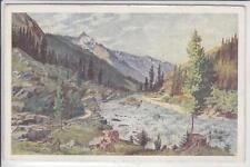 AK K. Eisenmenger, Krimmler Achental, Dreiherrenspitze Krimml, 1920