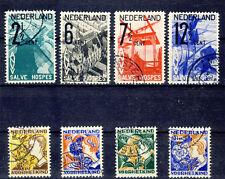 NIEDERLANDE - Jahrgang 1932 - Nr. 249-256 - gestempelt komplett (11550/1238N)