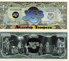 YES - A Classic Rock Band Million Dollar Bill