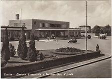 TREVISO - STAZIONE FERROVIARIA E PIAZZALE DUCA D'AOSTA 1956