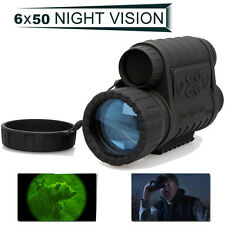 HD 720P WG-50 Infrarouge Vision De Nuit IR Monocle Téléscope 6X Zoom