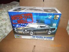 REVELL 1/24 MODEL KIT (66 SHELBY GT350H ) SKILL 2 FREE U.S. PRIORITY MAIL