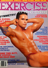 EXERCISE FOR MEN ONLY MAGAZINE MARCH 1988 (RARE, OUT-OF-PRINT)