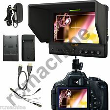 "Lilliput 7"" 663/P IPS Peaking Focus HDMI IN 1080P Monitor+Hot shoe stand+cable"