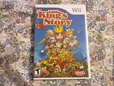 Little King's Story (Nintendo Wii, 2009) Complete