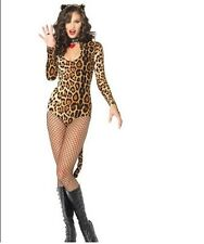Hot Sexy Leopard Kitty Girl Costume Wicked Wildcat Costume Fancy dress Hen Party