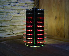 VU-Meter Graphic Equalizer LED Party DJ Disco Lights Red Laser Cut
