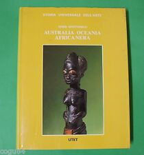 Vinigi Grottanelli - Australia Oceania Africa nera - 1^ Ed. UTET 1987