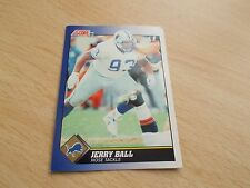 American Football Card JERRY BALL