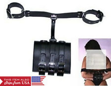 Adult Bondage Restraint Sex Aid arm Fetish Female Arm back bondage strap leather