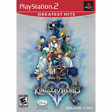 Kingdom Hearts II 2 ( PlayStation ps 2, 2006) Greatest Hits NEW