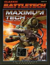 Classic Battletech Maximum Tech Revised Edition MINT Fan Pro