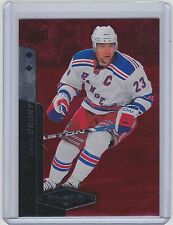 10-11 2010-11 BLACK DIAMOND CHRIS DRURY RUBY RED DOUBLE /100 98 UD RANGERS