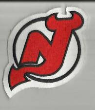 "NEW New Jersey Devils Polo Shirt/Hoodie Size Logo Patch 3.5"" x 2.75"" Embroidered"