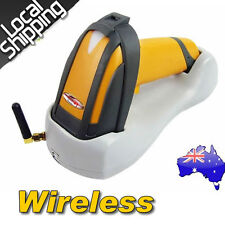 New Wireless Laser USB Barcode Scanner Handheld Portable+Contact Base Holder AU