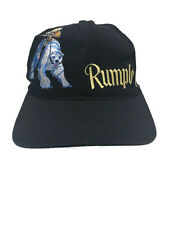 Rumple Minze Sexy Girl Polar Bear VTG Black Adjustable Hat Cap