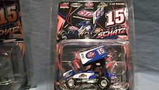 2013 DONNY SCHATZ 1:64 CHAMPIONSHIP STP # 15 WORLD OF OUTLAWS SPRINT CAR R&R GMP