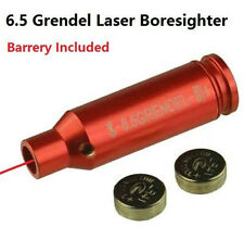 6.5 Grendel Laser Bore Sighter, Aluminum Red Anodized Finish