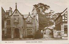 Postcard  Kendal cumbria Dowker buildings abbot hall entrance  A6