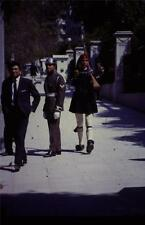 35mm Colour Slide- Greek Soldiers  Modern & Traditional-    1963