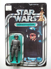 Vintage star wars 1978 sw/Anh Death squad commander 12 Back MOC unpunched rare!