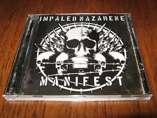 "IMPALED NAZARENE ""Manifest"" CD beherit belial"