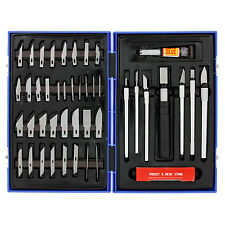 56 Pc Precision HOBBY MODEL KNIFE SET KIT Craft Razor