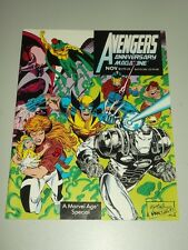 AVENGERS ANNIVERSARY VOL 1 #1 NOVEMBER 1993 MARVEL UK US MAGAZINE