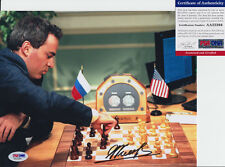 GARRY KASPAROV CHESS GRANDMASTER SIGNED AUTOGRAPH 8X10 PHOTO PSA/DNA COA #6