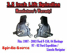 "97 - 03 Ford F-150 F150 Expedition Lincoln Navigator 2WD 3.5"" inch LIFT SPINDLES"