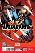 WOLVERINE #1 REGULAR COVER NEAR MINT 2013