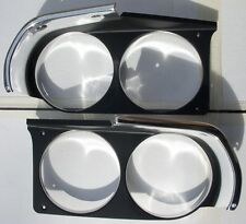 Mopar 1970 Challenger Headlight Grille Bezels 1970 Head Light NEW 70