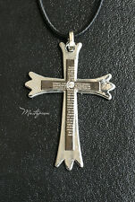 Titanium Steel Cross pendant necklace - TC5