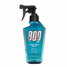 Bod Man Fresh Blue Musk for Men by Parfums De Coeur Fragrance Body Spray 8 oz